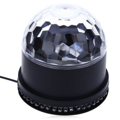 LED RGB 15W 2 in 1 Rotating Magic Ball Stage LightStage Lighting<br>LED RGB 15W 2 in 1 Rotating Magic Ball Stage Light<br><br>Occasion: Home Entertainment,Professional Stage &amp; DJ<br>Style: Mini<br>Product weight: 0.257 kg<br>Package weight: 0.340 kg<br>Product Size(L x W x H): 12.50 x 12.50 x 12.50 cm / 4.92 x 4.92 x 4.92 inches<br>Package Size(L x W x H): 13.50 x 13.50 x 13.50 cm / 5.31 x 5.31 x 5.31 inches<br>Package Contents: 1 x LED RGB 15W 2 in 1 Rotating Magic Ball Stage Light