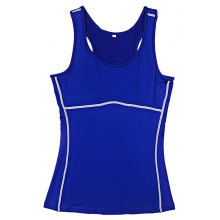 Female Fitness Waistcoat Vest Sleeveless Shirt Sport Clothes