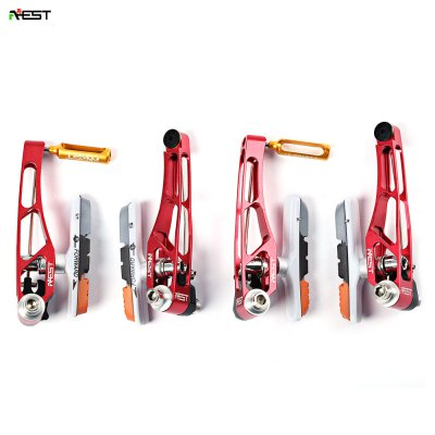 AEST 2 Pair Light Bike Rim V Brake Rigging Skid Riding Tool