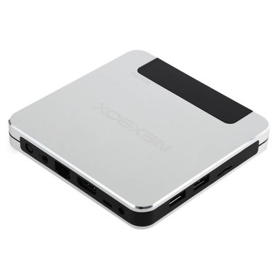 NEXBOX T9 TV Box 64Bit Win 10TV Box &amp; Mini PC<br>NEXBOX T9 TV Box 64Bit Win 10<br><br>Model Number: T9<br>Product weight: 0.222 kg<br>Package weight: 0.478 kg<br>Product Size(L x W x H): 11.50 x 11.50 x 1.50 cm / 4.53 x 4.53 x 0.59 inches<br>Package Size(L x W x H): 21.00 x 14.00 x 5.50 cm / 8.27 x 5.51 x 2.17 inches<br>Package Contents: 1 x NEXBOX T9 TV Box, 1 x Power Adapter, 1 x HDMI Cable, 1 x English User Manual