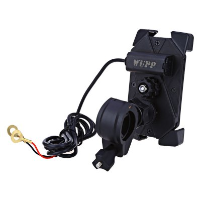 CS - 417A1 Vehicle Adjustable Phone Holder USB Power ChargerOther Car Gadgets<br>CS - 417A1 Vehicle Adjustable Phone Holder USB Power Charger<br><br>Type (Fire Safety): Vehicle Adjustable Phone Holder USB Power Charger<br>Product weight: 0.184 kg<br>Package weight: 0.257 kg<br>Package Size(L x W x H): 13.00 x 9.50 x 8.00 cm / 5.12 x 3.74 x 3.15 inches<br>Package Contents: 1 x Vehicle Adjustable Phone Holder USB Power Charger, 2 x Pad
