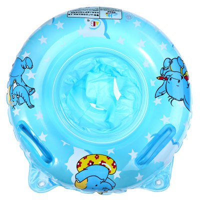 Inflatable Baby Float Ring Raft Chair Swimming Aid