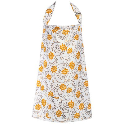 Breathable Cotton Printed Pocket Nursing Breastfeeding Cover for Women