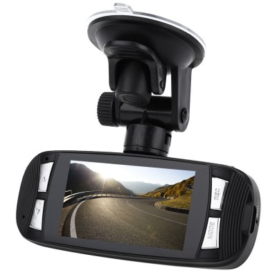 H200 2.7 Inch Full HD 1080P Car DVR RecorderCar DVR<br>H200 2.7 Inch Full HD 1080P Car DVR Recorder<br><br>Type: Full HD Dashcam<br>Chipset Name: Novatek<br>Chipset: Novatek 96650<br>Internal memory: 1GB<br>Max External Card Supported: TF 32G (not included)<br>Class Rating Requirements: Class 4 or Above<br>Screen size: 2.7inch<br>Screen type: TFT<br>Battery Type: Built-in<br>Charge way: Car charger<br>Wide Angle: 140 degree wide angle<br>Video format: MOV<br>Video Resolution: 1080P (1920 x 1080)<br>Video Output : AV-Out,HDMI<br>Image Format : JPG<br>Audio System : Built-in microphone/speacker (AAC)<br>Loop-cycle Recording : Yes<br>Motion Detection: Yes<br>G-sensor: Yes<br>HDMI Output: Yes<br>Interface Type: AV-Out,HDMI,USB 2.0<br>Language: English,French,German,Italian,Japanese,Korean,Portuguese,Simplified Chinese,Spanish,Traditional Chinese<br>Product weight: 0.067 kg<br>Package weight: 0.340 kg<br>Product size (L x W x H): 11.50 x 4.50 x 2.00 cm / 4.53 x 1.77 x 0.79 inches<br>Package size (L x W x H): 15.00 x 13.00 x 7.50 cm / 5.91 x 5.12 x 2.95 inches<br>Package Contents: 1 x Car Video Cam Recorder, 1 x Car Charger, 1 x Sucker Holder, 1 x USB Cable, 1 x Multilingual User Manual
