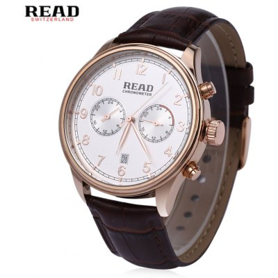 READ R2070G Male Quartz Business Watch