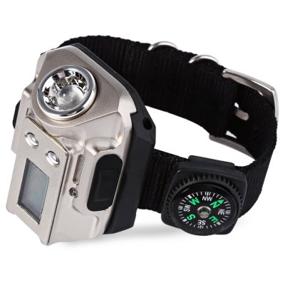 Rechargeable Variable-output LED Wrist Watch Light