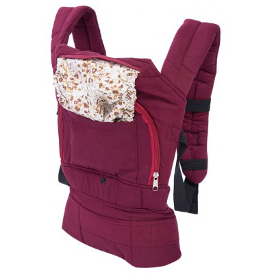 Flower Printed Breathable Baby Carrier Embrace Infants Sling