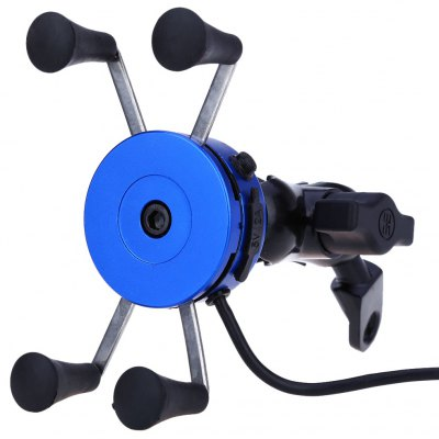 CS - 416 X Type Motorcycle Phone Holder USB Charger