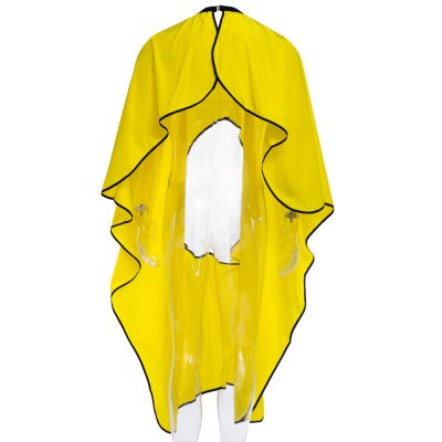 Hairstylist Nylon Gown Cape Round High Transparent Wear Resistant Mobile Phone Cloth