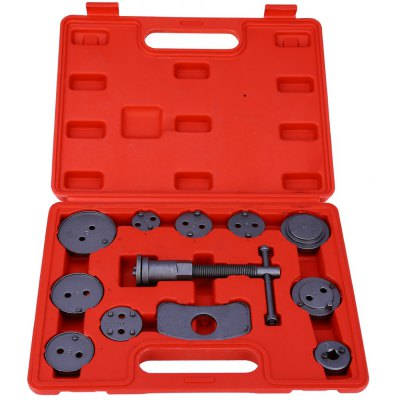 12pcs Universal Car Disc Brake Caliper Wind Back Tool Kit