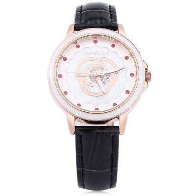 MARGUES M - 3047 Women Quartz WatchWomens Watches<br>MARGUES M - 3047 Women Quartz Watch<br><br>Band Length: 7.85 inch<br>Band Material Type: Leather<br>Band Width: 16 mm<br>Case material: Alloy<br>Case Shape: Round<br>Clasp type: Pin Buckle<br>Dial Diameter: 1.45 inch<br>Dial Display: Analog<br>Dial Window Material Type: Mineral Glass Mirror<br>Feature: Luminous<br>Gender: Women<br>Movement: Quartz<br>Style: Dress<br>Water Resistance Depth: 30m<br>Product weight: 0.032 kg<br>Package weight: 0.057 kg<br>Product Size(L x W x H): 23.70 x 3.80 x 0.70 cm / 9.33 x 1.5 x 0.28 inches<br>Package Size(L x W x H): 24.70 x 4.80 x 1.70 cm / 9.72 x 1.89 x 0.67 inches<br>Package Contents: 1 x MARGUES M - 3047 Women Quartz Watch