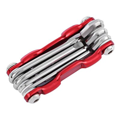 7 in 1 Folding Bicycle Multifunctional Wrench