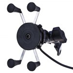 Motorcycle Phone Holder USB Charger
