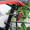 cheap Bike Bicycle 5 LEDs 3 Modes Rear Safety Light Tail Lamp
