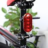 Bike Bicycle 5 LEDs 3 Modes Rear Safety Light Tail Lamp deal