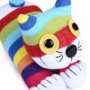 Baby Rainbow Striped Sock Cat Doll for sale