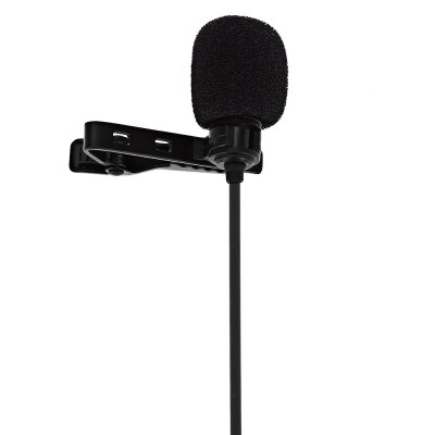 Mnlite CVM V03GP Lavalier MicrophonePhotography Accessories<br>Mnlite CVM V03GP Lavalier Microphone<br><br>Product weight: 0.058 kg<br>Package weight: 0.131 kg<br>Package Size(L x W x H): 11.00 x 4.50 x 12.50 cm / 4.33 x 1.77 x 4.92 inches<br>Package Contents: 1 x Mmlite CVM V03GP Lvalier Microphone, 1 x Conversion Line for GoPro, 1 x Storage Bag, 1 x Wind Jammer, 1 x English User Manual, 1 x Strainer