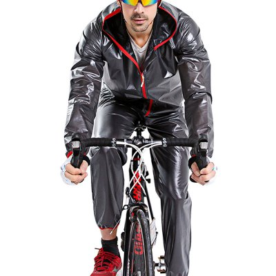 CYCLE ZONE Unisex Comfortable Outdoors Cycling Raincoat