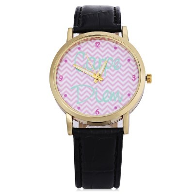 Fashion Women Quartz WatchWomens Watches<br>Fashion Women Quartz Watch<br><br>Band Length: 7.75 inch<br>Band Material Type: Leather<br>Band Width: 18 mm<br>Case material: Alloy<br>Case Shape: Round<br>Clasp type: Pin Buckle<br>Dial Diameter: 1.5 inch<br>Dial Display: Analog<br>Dial Window Material Type: Glass<br>Feature: Luminous<br>Gender: Women<br>Movement: Quartz<br>Style: Simple<br>Product weight: 0.025 kg<br>Package weight: 0.046 kg<br>Product Size(L x W x H): 24.20 x 4.20 x 0.70 cm / 9.53 x 1.65 x 0.28 inches<br>Package Size(L x W x H): 25.20 x 5.20 x 1.70 cm / 9.92 x 2.05 x 0.67 inches<br>Package Contents: 1 x Women Quartz Watch