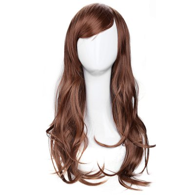 70cm Long Big Wavy Wig Hair Heat Resistant Cosplay Party Costume