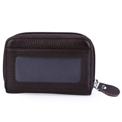 Organ Leather Zipper Card WalletMens Wallets<br>Organ Leather Zipper Card Wallet<br><br>Wallets Type: Card Wallets<br>Gender: For Unisex<br>Style: Fashion<br>Closure Type: Zipper<br>Pattern Type: Solid<br>Main Material: Leather<br>Hardness: Soft<br>Interior: Interior Slot Pocket<br>Height: 7 cm / 2.76 inch<br>Width: 2 cm / 0.79 inch<br>Length(CM): 10.7 cm / 4.21 inch<br>Product weight: 0.071 kg<br>Package weight: 0.096 kg<br>Package size (L x W x H): 7.70 x 3.00 x 12.00 cm / 3.03 x 1.18 x 4.72 inches<br>Package Contents: 1 x Card Wallet