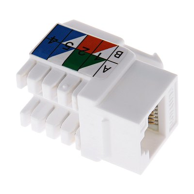 Vention VDD - B06 - W Category 6 High-speed Ethernet Module
