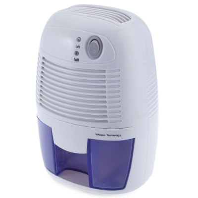 23W Portable Mini DehumidifierAir Purifier<br>23W Portable Mini Dehumidifier<br><br>Feature: Compact,  portable and lightweight<br>Package Contents: 1 x Mini Dehumidifier, 1 x Power Adapter, 1 x English User Manual<br>Package Size(L x W x H): 29.00 x 16.50 x 13.00 cm / 11.42 x 6.5 x 5.12 inches<br>Package weight: 1.2060 kg<br>Product Size(L x W x H): 22.00 x 14.50 x 12.00 cm / 8.66 x 5.71 x 4.72 inches<br>Product weight: 0.8770 kg