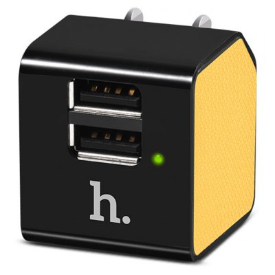 HOCO UH206 Dual USB Charging Adapter