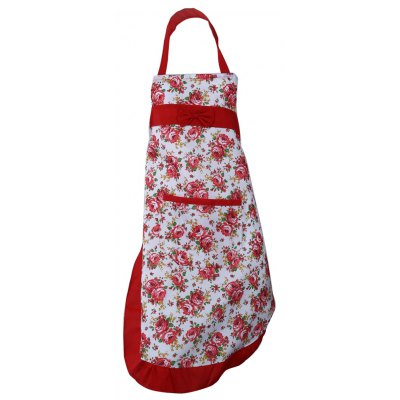 Kitchen Cooking Water Resistant Flower Lace Women Apron