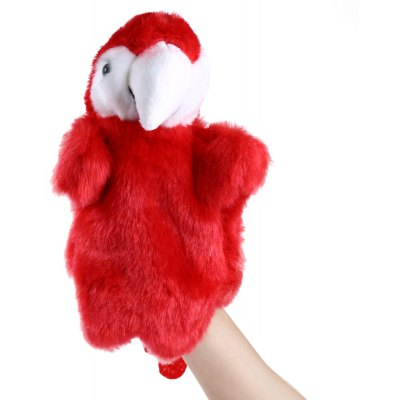 Plush hand puppets Soft Toy Parrot