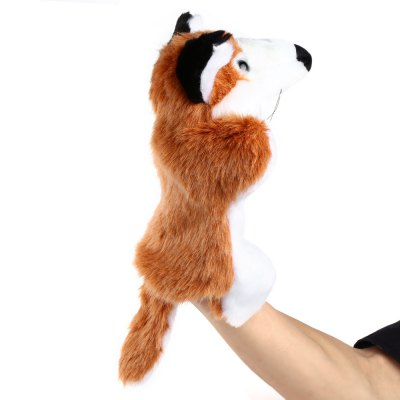 Plush hand puppets Soft Toy Fox