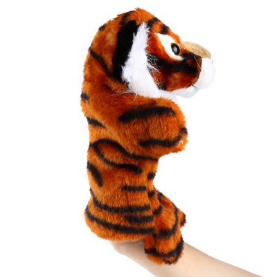 Plush hand puppets Soft Toy Tiger