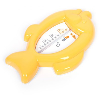 Rikang Cute Fish Shape Baby Bathe Water Thermometer