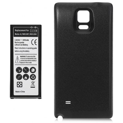 6200mAh Li-ion Battery Cover for Samsung Galaxy Note 4