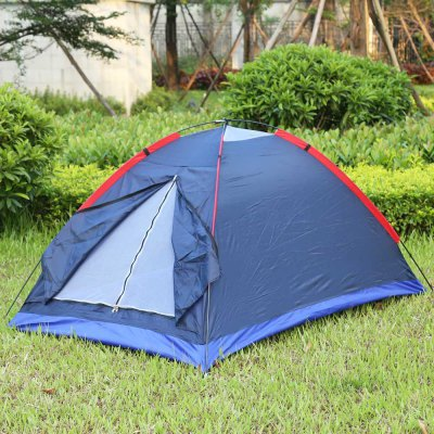 Outdoor Camping Tent Fiberglass Pole Resistance WindproofTent<br>Outdoor Camping Tent Fiberglass Pole Resistance Windproof<br><br>Bottom Waterproof Index: &lt;1000 mm<br>Building Type: Construction Based on Need<br>Capacity: Two<br>Fabric: Nylon<br>Layers: Double<br>Package Contents: 1 x Tent Accessory, 1 x Bag<br>Package Size(L x W x H): 60.00 x 14.00 x 14.00 cm / 23.62 x 5.51 x 5.51 inches<br>Package weight: 1.1600 kg<br>Pole Material: Fiberglass<br>Product Size(L x W x H): 200.00 x 140.00 x 110.00 cm / 78.74 x 55.12 x 43.31 inches<br>Season: Three-season Tent<br>Style: Outdoor<br>Type: 1 - 2 Person Tent