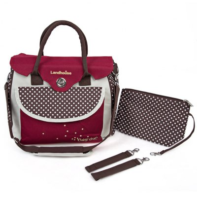 Waterproof Inside Baby Diaper Bag Mummy Handbag