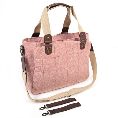 Cotton Baby Diaper Bag Mummy HandbagBaby Carriers &amp; Backpacks<br>Cotton Baby Diaper Bag Mummy Handbag<br><br>Style: Tote Bag<br>Closure Type: Zipper<br>Item Size: Medium(30-50cm)<br>Gender: Unisex<br>Material: Cotton<br>Pattern: Solid<br>Feature: Soft Cotton<br>Season: All seasons<br>Adjustable: Yes<br>Product weight: 0.675 kg<br>Package weight: 0.748 kg<br>Product size (L x W x H): 39.00 x 29.00 x 15.00 cm / 15.35 x 11.42 x 5.91 inches<br>Package size (L x W x H): 45.00 x 30.00 x 5.00 cm / 17.72 x 11.81 x 1.97 inches<br>Package Contents: 1 x Mummy Bag