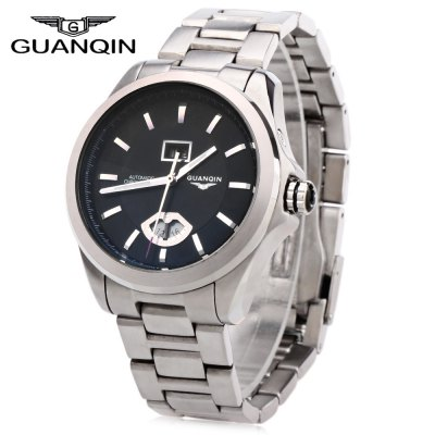 GUANQIN GJ16026 Men Auto Mechanical Watch