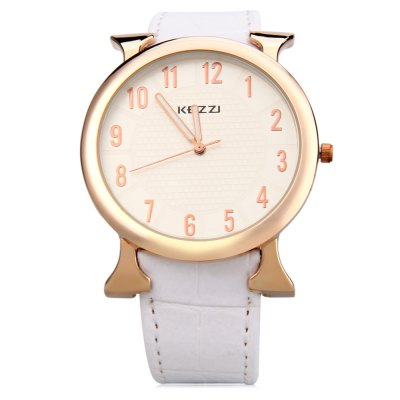KEZZI K - 763G Men Quartz WatchMens Watches<br>KEZZI K - 763G Men Quartz Watch<br><br>Band Length: 7.4 inch<br>Band Material Type: Leather<br>Band Width: 20 mm<br>Case material: Alloy<br>Case Shape: Round<br>Clasp type: Pin Buckle<br>Dial Diameter: 1.65 inch<br>Dial Display: Analog<br>Dial Window Material Type: Glass<br>Feature: Luminous<br>Gender: Men<br>Movement: Quartz<br>Style: Simple<br>Water Resistance Depth: 30m<br>Product weight: 0.039 kg<br>Package weight: 0.060 kg<br>Product Size(L x W x H): 23.20 x 4.40 x 0.80 cm / 9.13 x 1.73 x 0.31 inches<br>Package Size(L x W x H): 24.20 x 5.40 x 1.80 cm / 9.53 x 2.13 x 0.71 inches<br>Package Contents: 1 x KEZZI K - 763G Men Quartz Watch