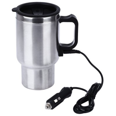 12V 450ML Full Steel Car Heated Travel Mug