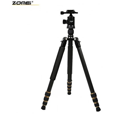 Zomei Q666C 65 Inches Lightweight Carbon Filter Tripod with Bag