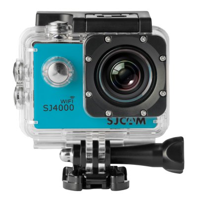 SJCAM SJ4000 WiFi 1080P 1.5 inch LCD Action Camera Sport DVAction Cameras<br>SJCAM SJ4000 WiFi 1080P 1.5 inch LCD Action Camera Sport DV<br><br>Brand: SJCAM<br>Model: SJ4000 WiFi<br>Type: Sports Camera<br>Chipset Name: Novatek<br>Max External Card Supported: SD 32G (not included)<br>Class Rating Requirements: Class 10 or Above<br>Screen size: 1.5inch<br>Screen type: LCD<br>Screen resolution: 960 x 240<br>Battery Type: Removable<br>Charge way: AC adapter<br>Working Time: 1080P about 70 minutes<br>Decode Format: H.264<br>Video format: MOV<br>Video Resolution: 1080P (1920 x 1080),720P (1280 x 720),VGA (640 x 480)<br>Video System: NTSC,PAL<br>Video Output : HDMI<br>Image Format : JPG<br>Loop-cycle Recording : Yes<br>HDMI Output: Yes<br>Interface Type: HDMI,USB 2.0<br>Language: English,French,German,Italian,Japanese,Korean,Russian,Simplified Chinese,Spanish,Traditional Chinese<br>Product weight: 0.059 kg<br>Package weight: 0.722 kg<br>Product size (L x W x H): 6.00 x 4.00 x 2.50 cm / 2.36 x 1.57 x 0.98 inches<br>Package size (L x W x H): 24.00 x 17.00 x 7.00 cm / 9.45 x 6.69 x 2.76 inches<br>Package Contents: 1 x DV (with waterproof case), 2 x Helmet Mount Set, 1 x Bycycle Mount Set, 1 x Clip, 5 x Ribbon, 1 x USB Cable, 1 x Adaptor, 1 x Wipper, 1 x User Manual