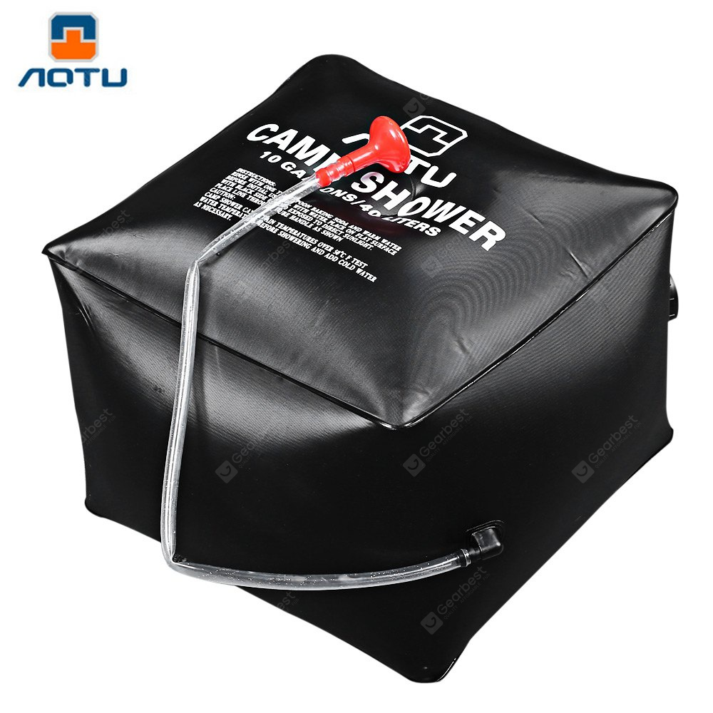Aotu Bath Bag Camp Shower for Camping Fishing Hiking