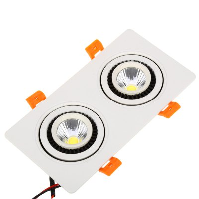 LED 10W Double Heads COB Gimbal Recessed Ceiling Light