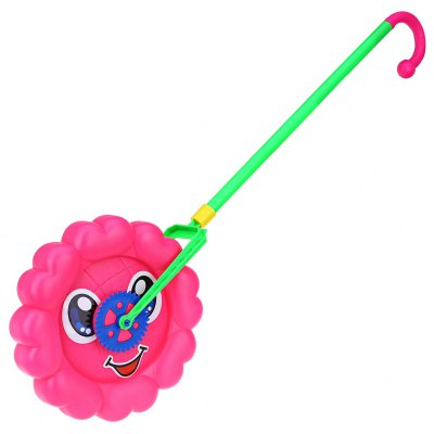 Baby Sunflower Hand-push Wheel Toy