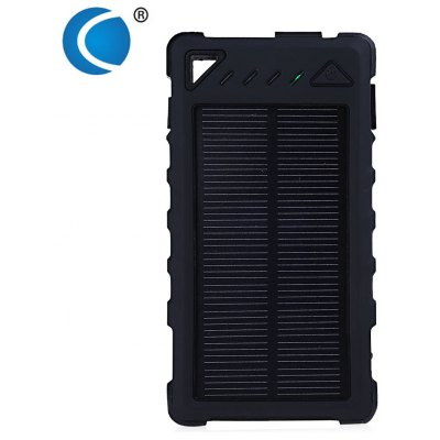 CHARMPIE S80 Waterproof LED Light 8000mAh Solar Charger Power Bank
