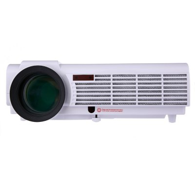 LED - 96 3000 Lumens 1280 x 800 Pixels HD LCD ProjectorProjectors<br>LED - 96 3000 Lumens 1280 x 800 Pixels HD LCD Projector<br><br>Home Theater Projector: Yes<br>is Pocket Projector: No<br>Model Number: LED - 96<br>Optical Resolution: 1280x800dpi<br>Portable: Yes<br>Projection Distance: 2 - 5m<br>Product weight: 3.050 kg<br>Package weight: 4.311 kg<br>Product Size(L x W x H): 33.50 x 27.00 x 11.00 cm / 13.19 x 10.63 x 4.33 inches<br>Package Size(L x W x H): 40.00 x 18.00 x 33.50 cm / 15.75 x 7.09 x 13.19 inches<br>Package Contents: 1 x LED Projector, 1 x Power Cable, 1 x HDMI Cable, 1 x RCA Cable, 1 x English User Manual