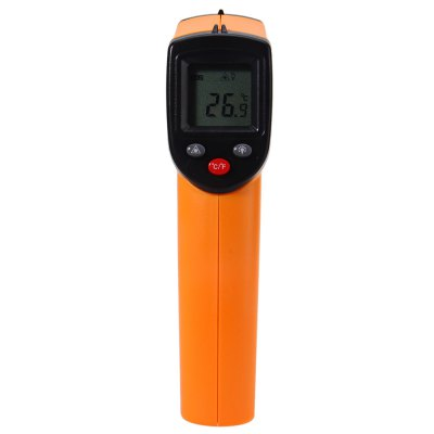 GM320 Infrared ThermometerThermometers<br>GM320 Infrared Thermometer<br><br>Package Contents: 1 x Infrared Thermometer, 1 x English Manual<br>Package Size(L x W x H): 18.50 x 13.00 x 5.00 cm / 7.28 x 5.12 x 1.97 inches<br>Package weight: 0.150 kg<br>Product Size(L x W x H): 14.50 x 8.00 x 3.50 cm / 5.71 x 3.15 x 1.38 inches<br>Product weight: 0.100 kg