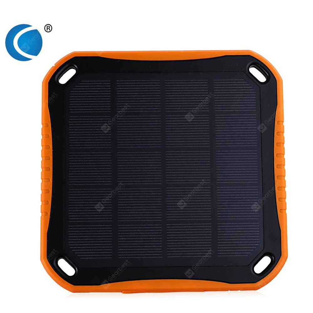 CHARMPIE S7 Solar Charger 5600mAh Power Bank