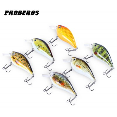 Proberos 6pcs Fishing Hook Lure Bait